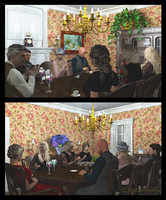 Dinner Party by jbjdesigns