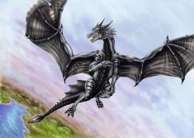 Silverdragon by Luarcis