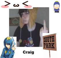 Craig Makeup test by CecilTheCosplayer
