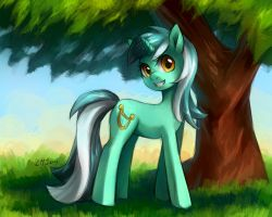 Lyra Heartstrings by KatiraMoon