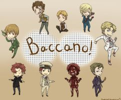 Baccano: Chibi Time by Angels-Leaf