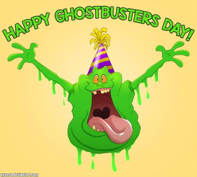 HAPPY GHOSTBUSTERS DAY!! by Nyaasu