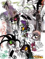 Sketchdump MADNESS by CountANDRA
