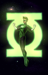 Green Lantern_COMMISSION by vest