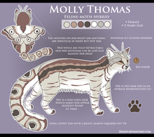 Molly Thomas Reference Sheet by Daesiy