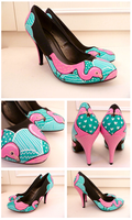 Flamingo Heels by ponychops