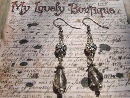 grey round cross by TheLovelyBoutique