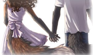 Holding Hands by LadySilvie