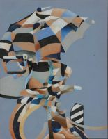 Cubist Study of a Chair by TheArtHobo