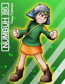 KND - Numbuh 86, Fanny Fulbright by McKinleyMassacre