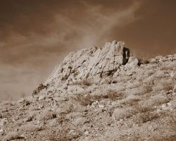 Stone Wall of the Searle by Buzzard09
