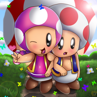 Ohohhohoho Let's Take A Picture  First Toad by HG-The-Hamster