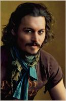 Johnny Depp-Digital Painting by chamirra
