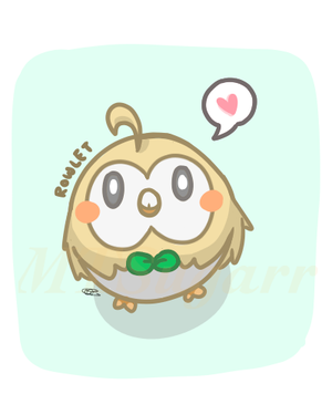 Rowlet by MTSugarr