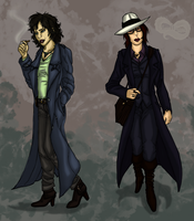 Pazzi and Lecter - gender bending! by Lady-Hannibal