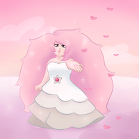 Rose With Poof Hair by PalaceOfChairs