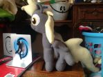 Derby plush by SmuggleMuffin