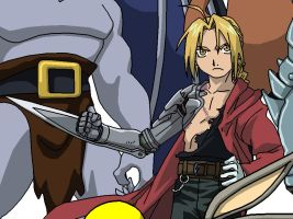 Edward Elric by BeardBeyond