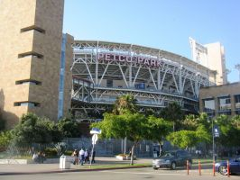 Petco Park's Main Entrance by BigMac1212