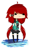 Gatikiu Chibi by KasumiNightmare