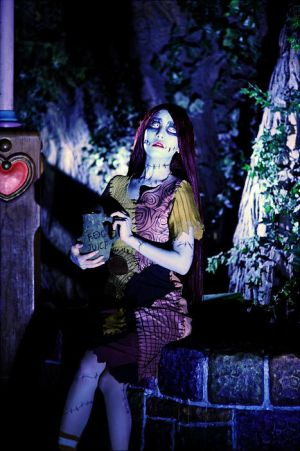 Sally from the nightmare before christmas by Maho-Urei
