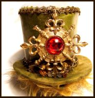 Siren's Magic Orb Top Hat by SteamSociety