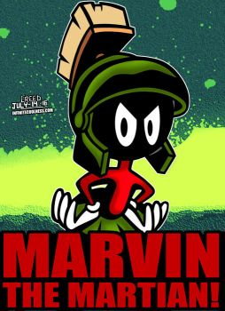 Cartoon Villains - 094 - Marvin The Martian! by CreedStonegate