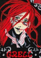 grell painting freehand by Miasmahex-Vicious