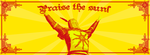 Praise The Sun Banner by MrWallas79