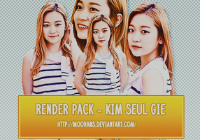 Render Pack - Kim Suel Gie by MooranS