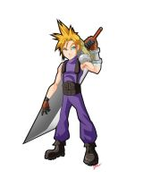 Final Fantasy 7 - Cloud by 3niteam