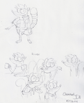 Rigby Sketches by SketchedJDII