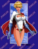 Power Girl 01 by TroyBailey