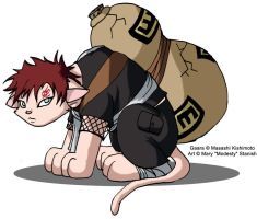 Gaara of the Litterbox by modesty