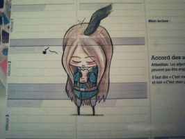 that's what I'm doing in my class XD by chibi-raiden