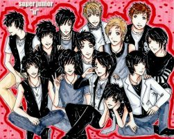 Super Junior - U by kawaiibabyheero