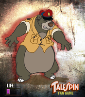 Baloo hurt (TaleSpin version) by rpiquel