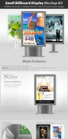 Small Billboard Display Mockup by survivorcz