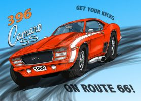 Route 66 Camaro by R0tti