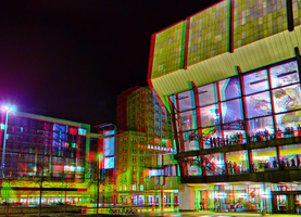 Gewandhaus Leipzig 3D :: HDR Anaglyph Stereoscopy by zour