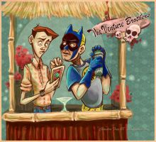VB Tiki Party - Dean and Hank by SpookyChan