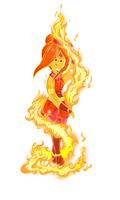Flame Princess - Firebenders by Pami-R
