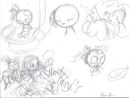 Winx Lenore Sketchy Comic by NotNights
