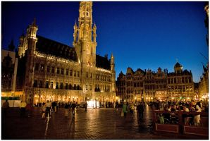 Brussels' Grand Place 2 by flemmens