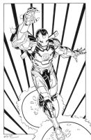 Iron Man Inked by HillmanArts