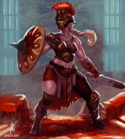 Gladiator by Aths-Art