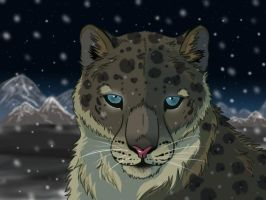 Snow Leopard by lykinz