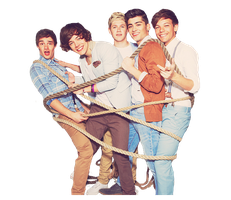 One Direction PNG by MyHappinessLaali