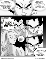 Dbz: Bulma and Vegeta - Firstkiss: Chapter 3, Pg17 by longlovevegeta