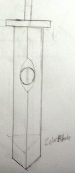 Mysterious Sword Rough Draft by ZeloBlake